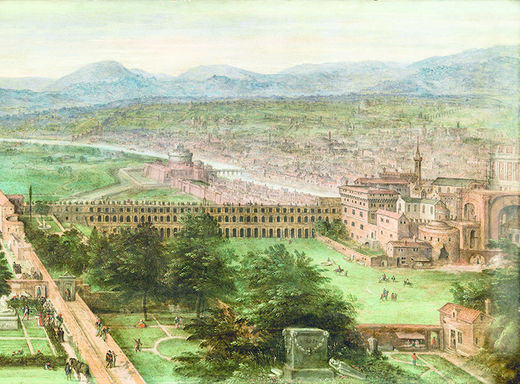 Von Paderborn ins alte Rom