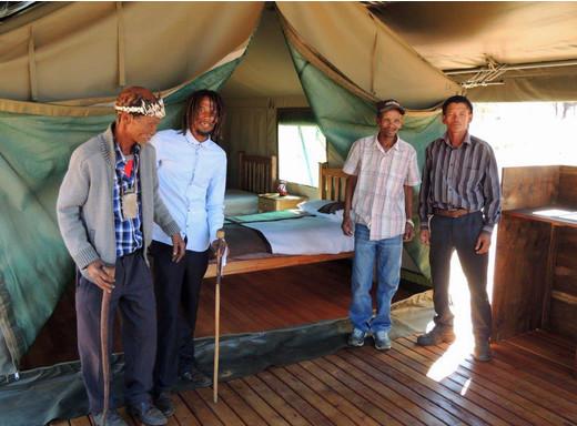 Neue Chancen in der Kalahari