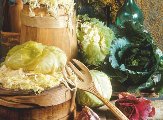 Edeltraut aß mal gerne Sauerkraut
