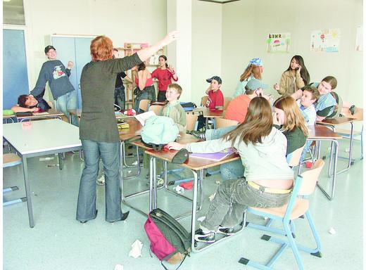 Notstandsgebiet Schule