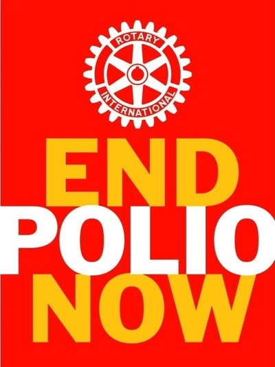 End Polio Now - Weltpoliotag 2018