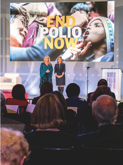 Augenblicke - Welt-Polio-Tag 2018
