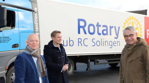 Der Rotary Club Solingen bringt 500 PS an den Start