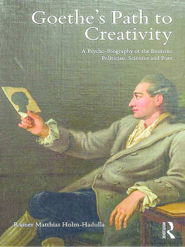 Exlibris - Goethe's Path to Creativity - A Psycho-Biography of the Eminent Politician, Scientist and Poet
