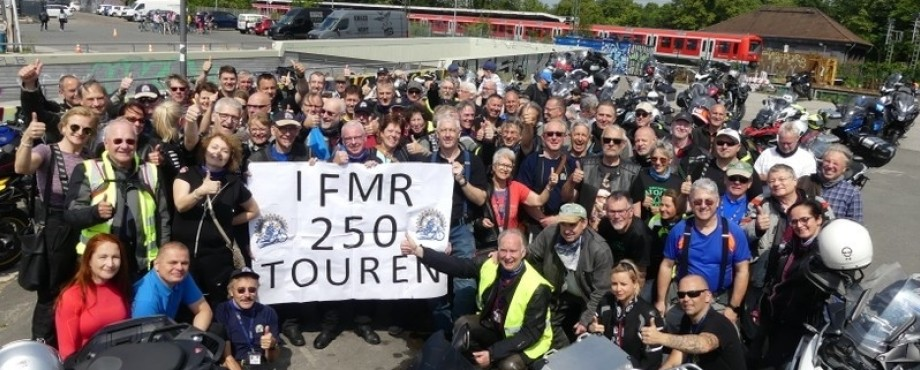 Convention-Momente - Motorradfahrer-Fellowship on Tour