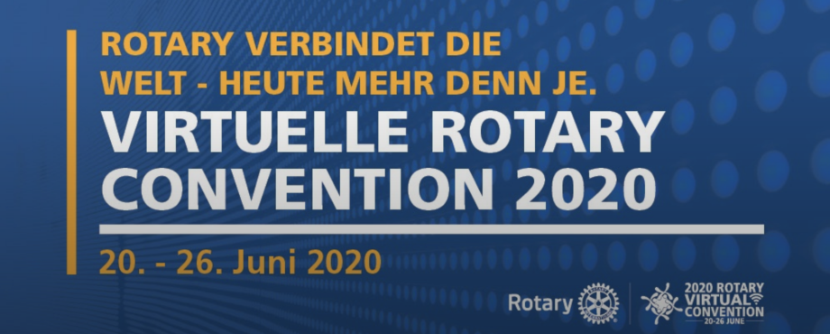 Convention - Das Programm für die virtuelle Convention 2020