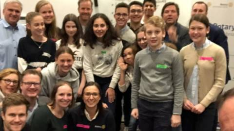 Erster Interact-Club in Hannover