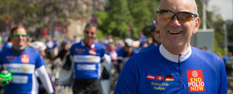 Rotary bewegt - Rotarier stellen Spendenrekord auf