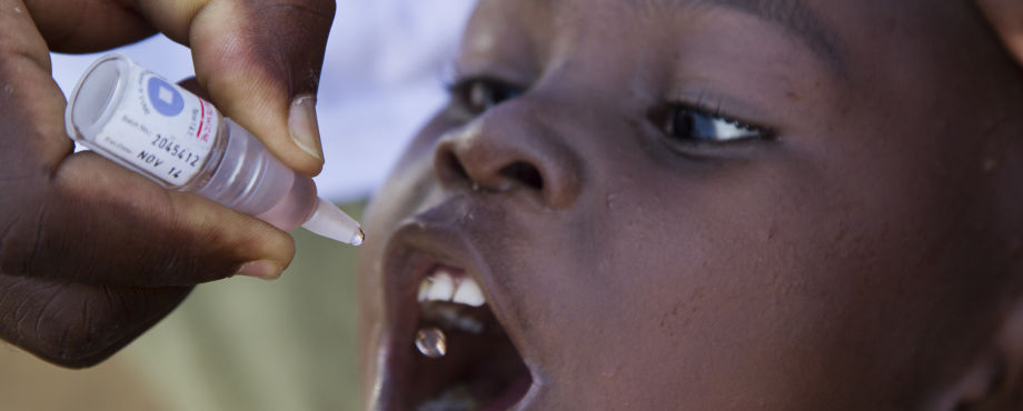 Projekte - End Polio Now, GesundeKids und Co.