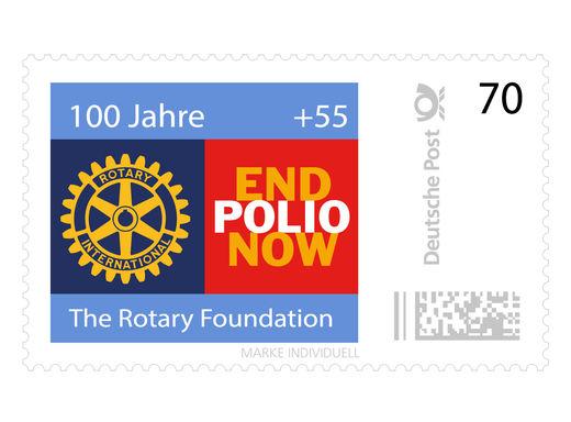Eine Briefmarke, die hilft