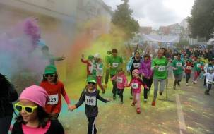 Farbiger Charity-Lauf in Albstadt