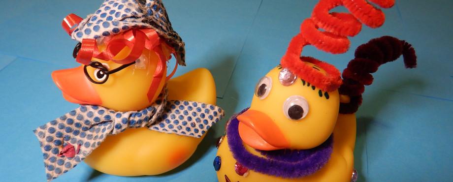 Wer hat die schönste Renn-Ente?
