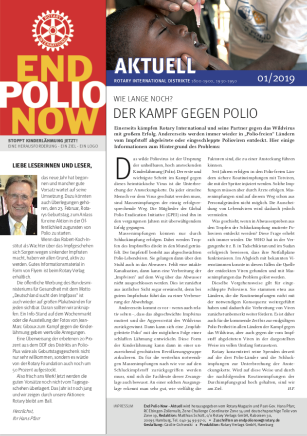 2019, polio-newsletter, polio, epn, end polio now, endpolionow, kinderlähmung, krankheit