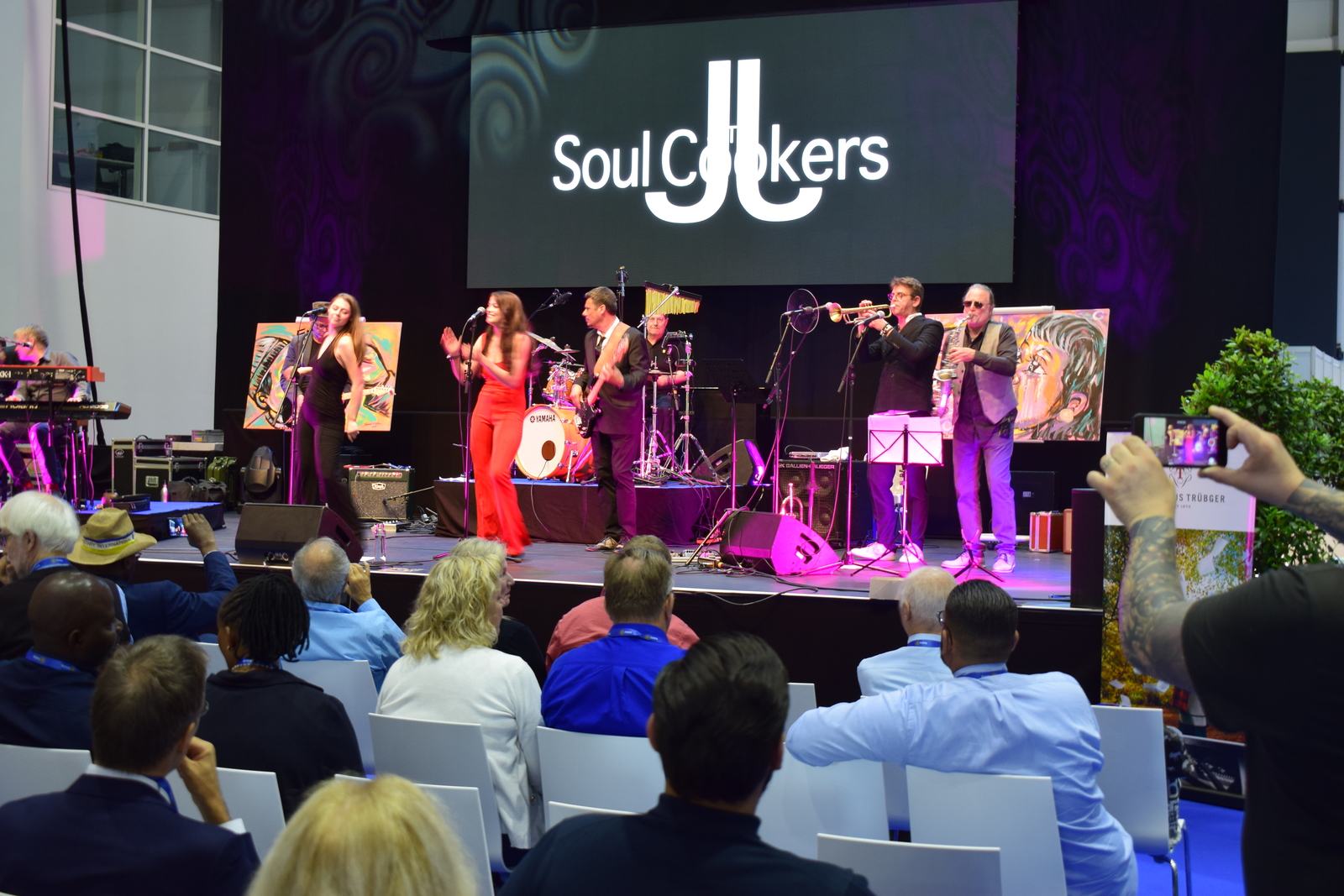 2019, hamburg, convention, musik, jj & the soul cookers