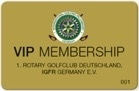 Golf, Golfmeisterschaft, 2019, Bad Saarow, VIP-Card, Membership, Card