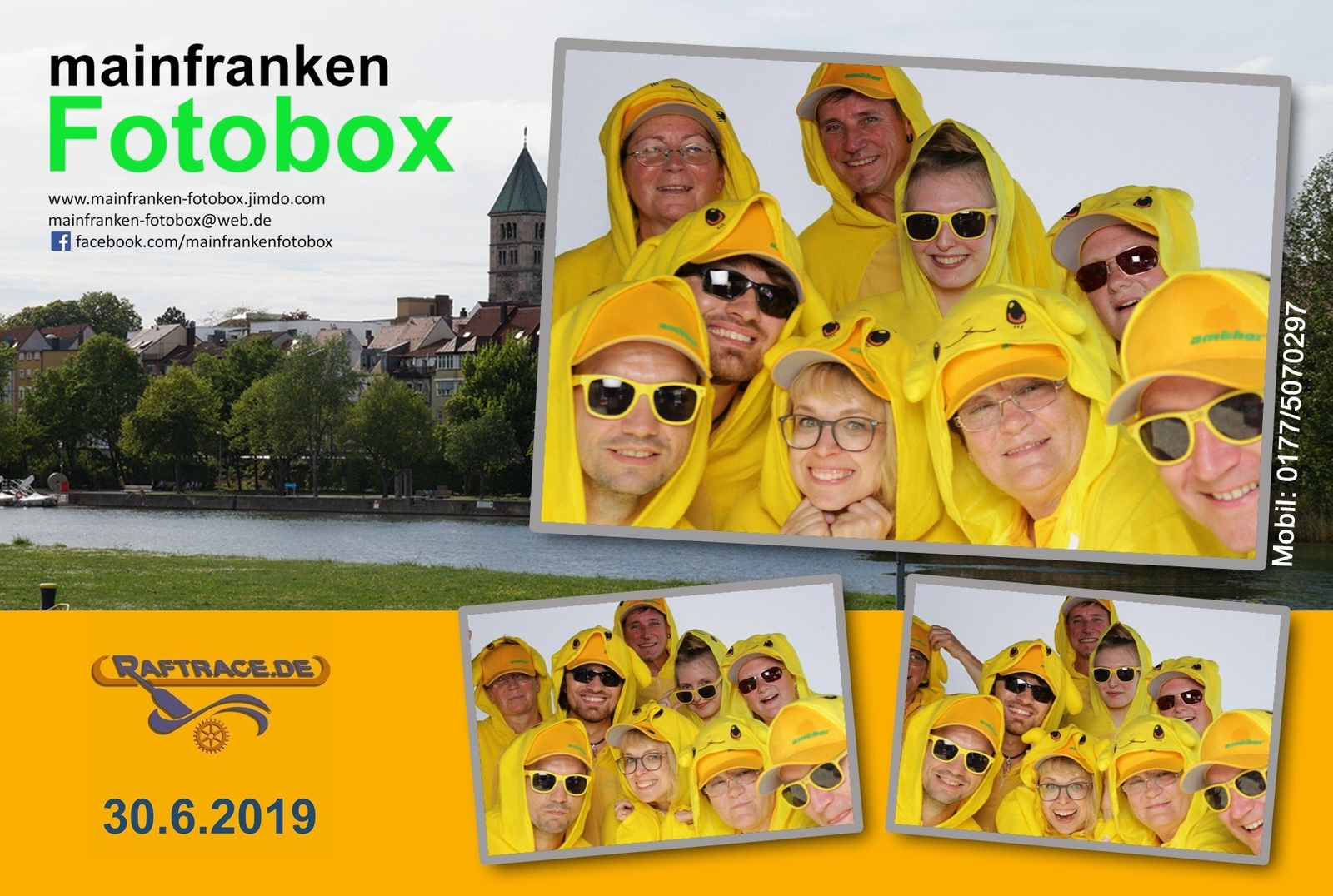 2019, rotarian rowdy river raft race, main, schweinfurt, photobox