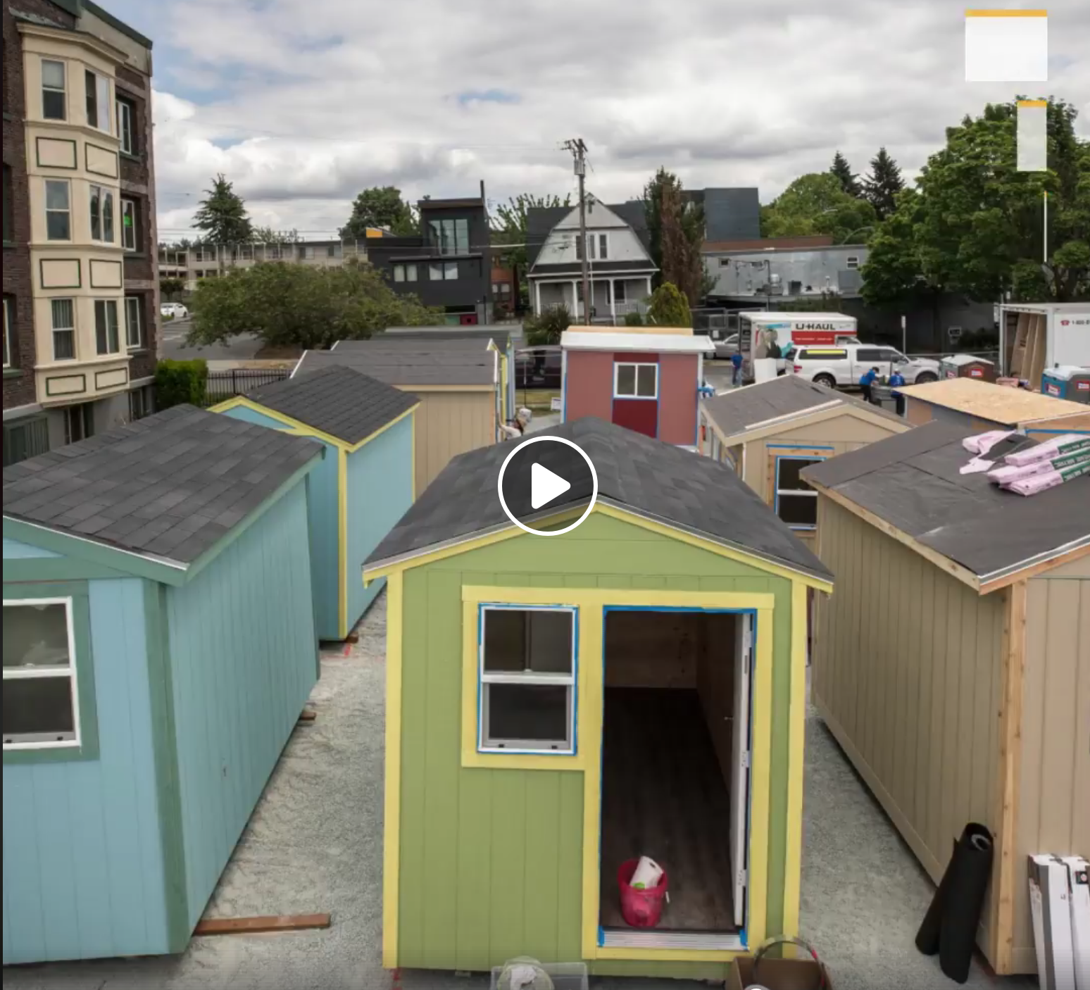 Tiny Houses, Seattle