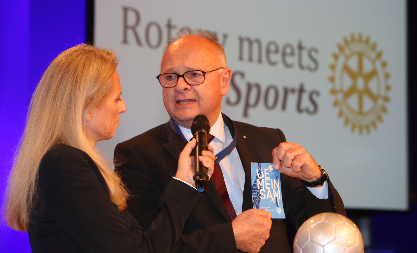 2018, rotary meets sports, ismael sadek, governor, wien