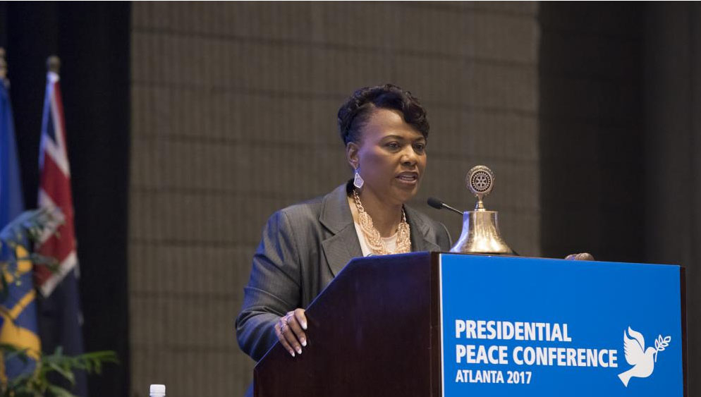 Convention, Atlanta, RI-Convention, Rotary International, Bernice King