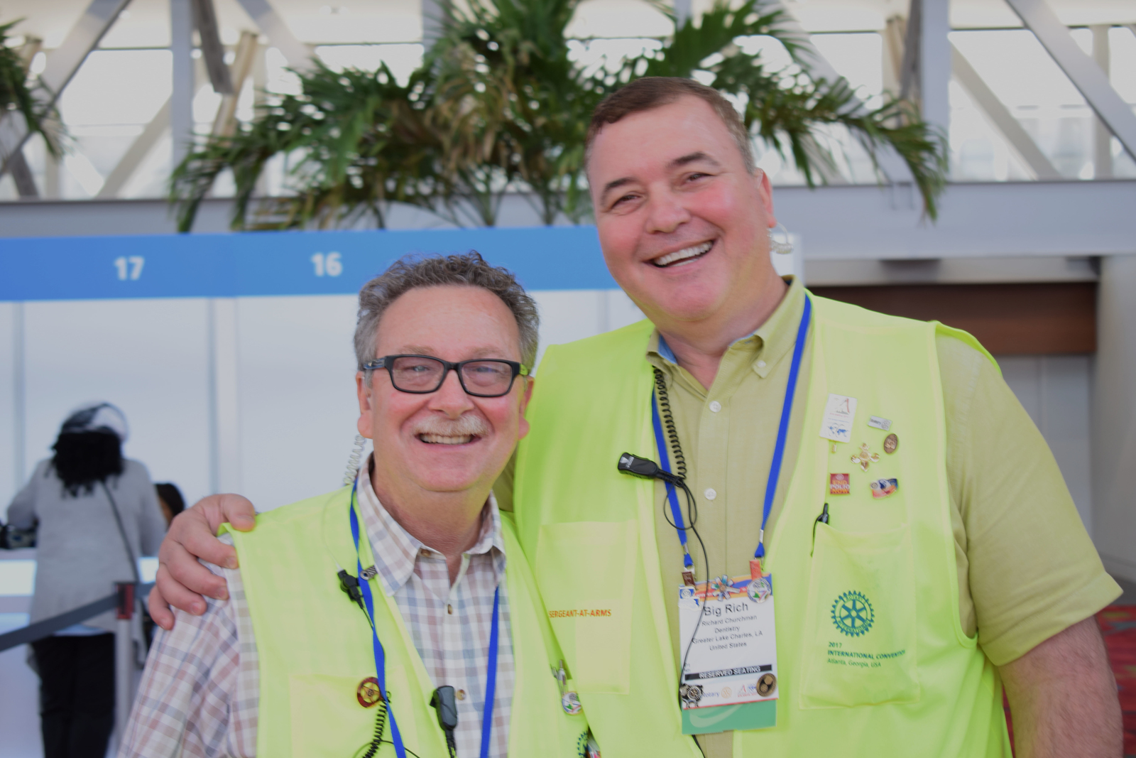 Convention, Atlanta, USA, Tagebuch, Rotary International