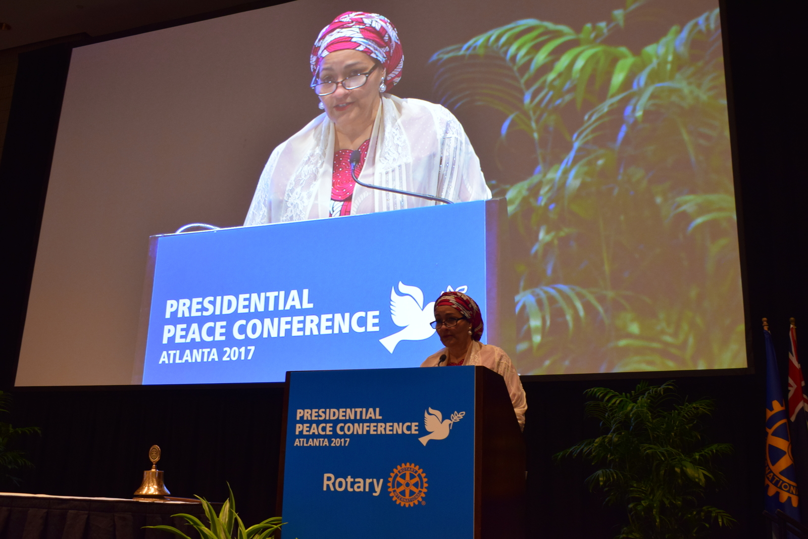 Amina J. Mohammed, Mohammed, Presidential Peace Conference