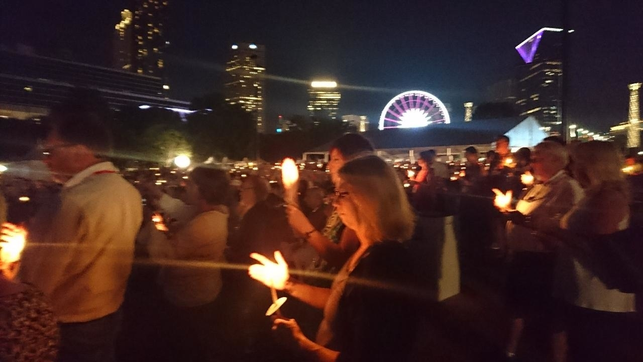 Convention, Atlanta, Centennial Olympic Park, Kerze