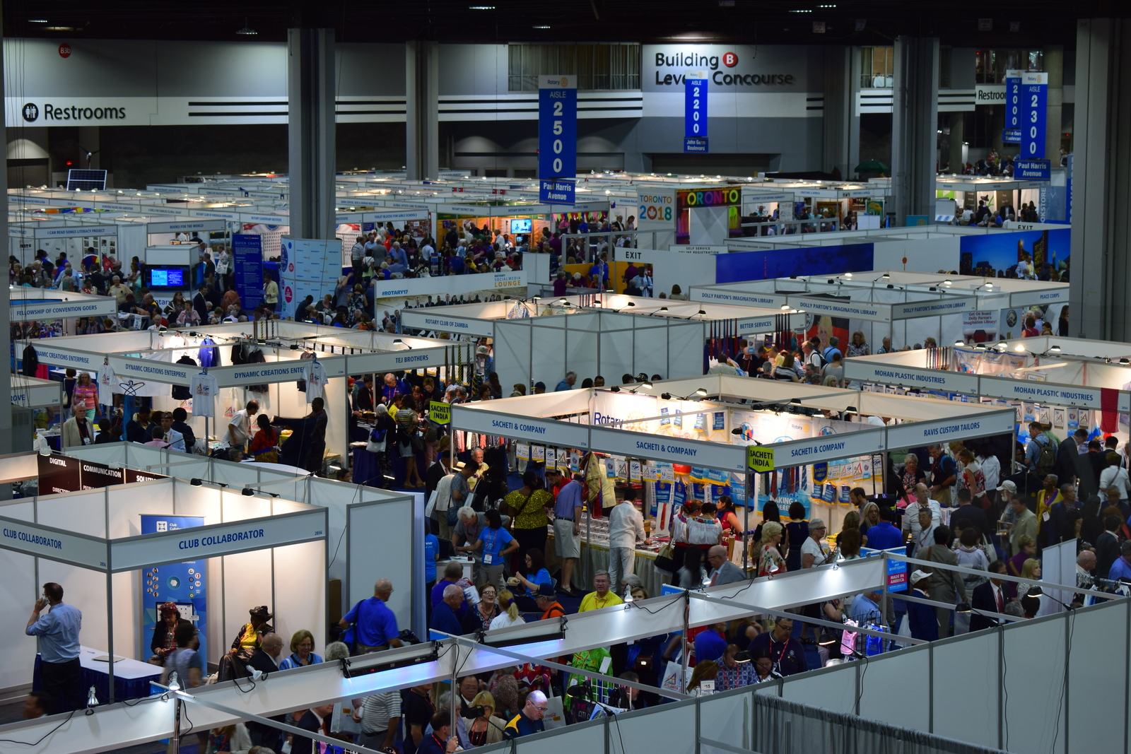 Convention, Atlanta, USA, Tagebuch, Rotary International, House of Friendship