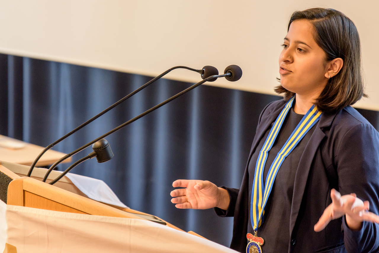 Tanvi Padhye, Interact Club Munich-International, Interact Club München-International, ICMI, Inauguration, Gründung