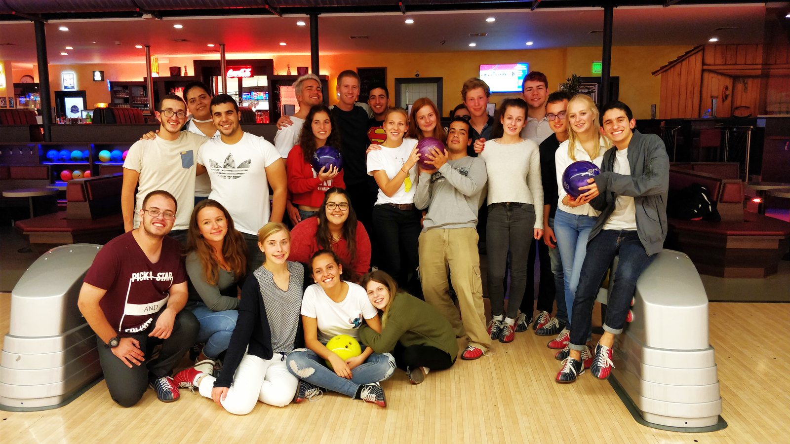 Israel, Interact, IAC, Bad Homburg,Bowling Besuch, Hottenrott