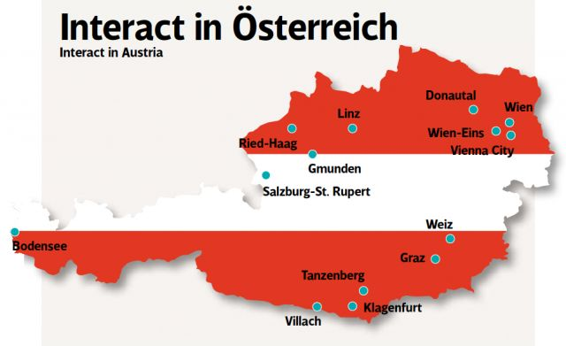 Hier finden sich Rotaract Clubs in Österreich