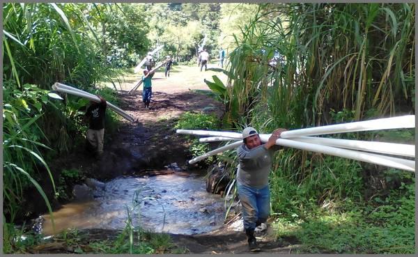 Trinkwasser für ein Dorf in  Guatemala