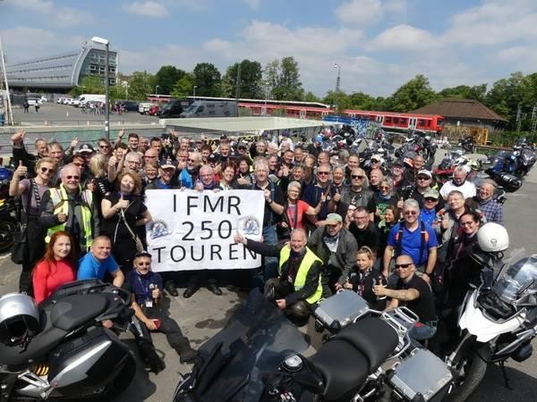 Motorradfahrer-Fellowship on Tour