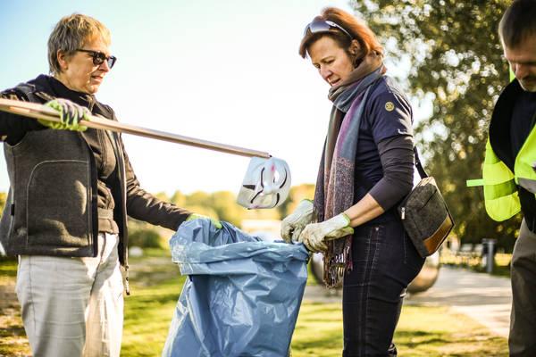 World-Clean-up am Wöhrder See