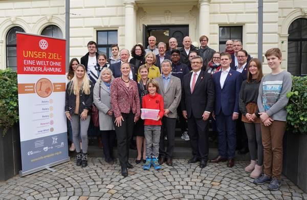 Gemeinsam für End Polio Now