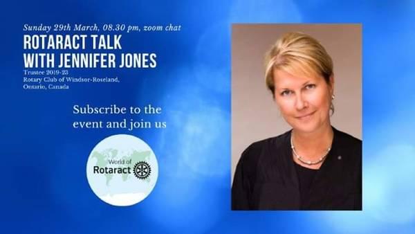 Video-Meeting mit Jennifer Jones