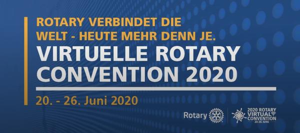 Das Programm für die virtuelle Convention…