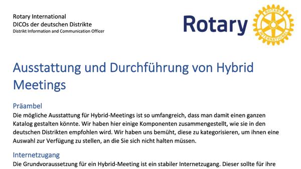 Hybrid-Meetings - wie geht's?