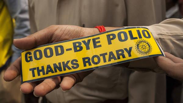 Polio-Newsletter: Erfolg in Afrika…