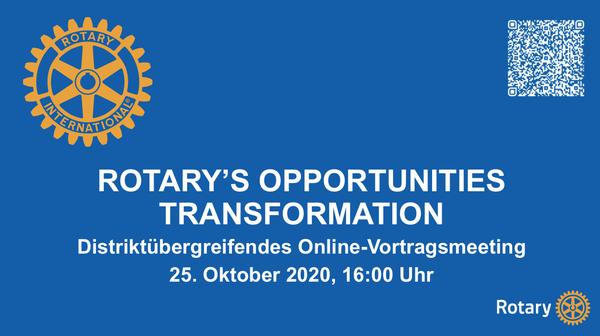 Mehr Möglichkeiten für Rotary -…