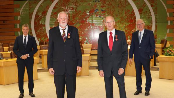 Hohe Auszeichnung für zwei Rotarier
