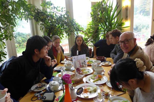 Vom Stipendiaten zum Rotarier mit…