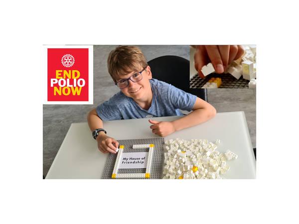 Stein für Stein gegen Polio