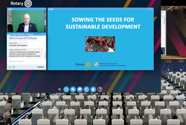 Die Saat für nachhaltige Entwicklung