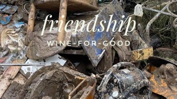 Mit Wein helfen