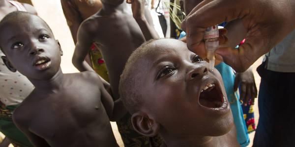 Afrika wird in Kürze für polio-frei…